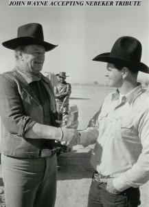 Nebeker & John Wayne 1974 edit
