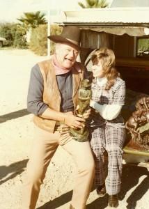 John Wayne & Merry 1974