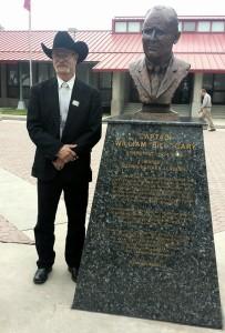 Nebeker & BillGary statue