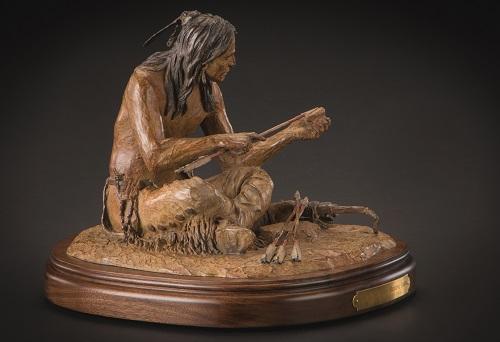 Kiowa Iron Tipped   Medicine Arrows